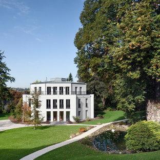 Jardin avec un bassin Cologne : Photos et idées déco de jardins