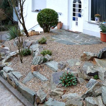 Vorgarten Neugestaltung Bad Schwalbach