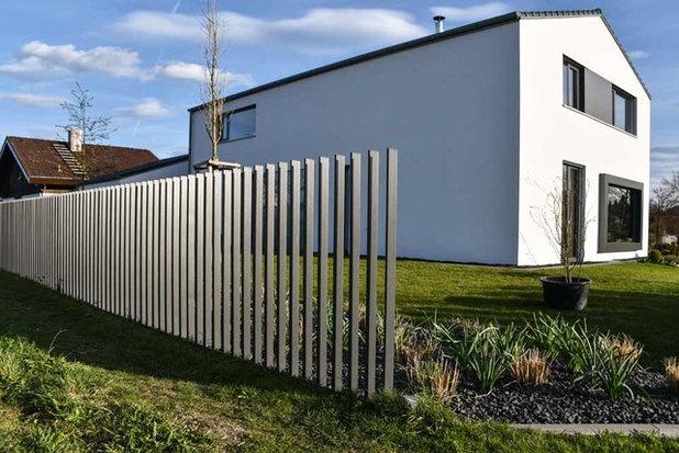 Stilvoll Eingezaunt 9 Moderne Gartenzaune