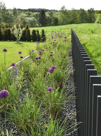 Gartenzaun reloaded drei moderne stelenz une die coole grenzen ziehen - Moderne gartenzaune ...
