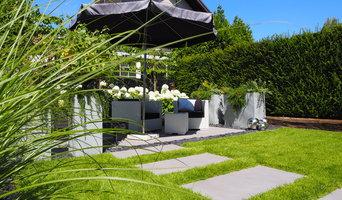 Wohnlicher Stadtgarten in Grevenbroich