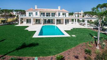 Wunderschöne Pool-Villa im klassischen Stil