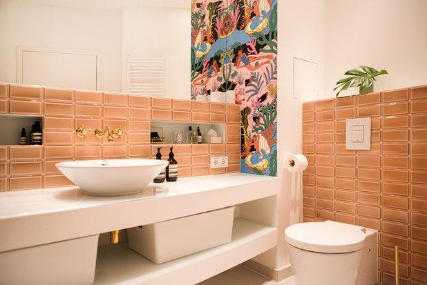 Eklektisch Gästetoilette by THE INNER HOUSE