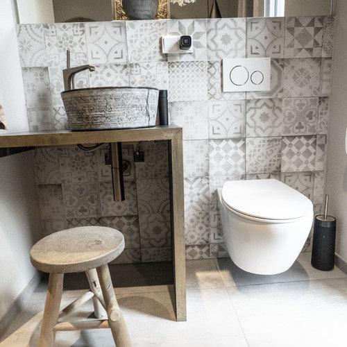 Photos et idées déco de WC et toilettes avec des carreaux de ...