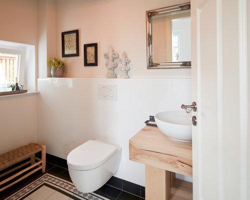 Bagni Piastrelle Bianche : Bagno con pavimento con piastrelle in ceramica brema foto idee
