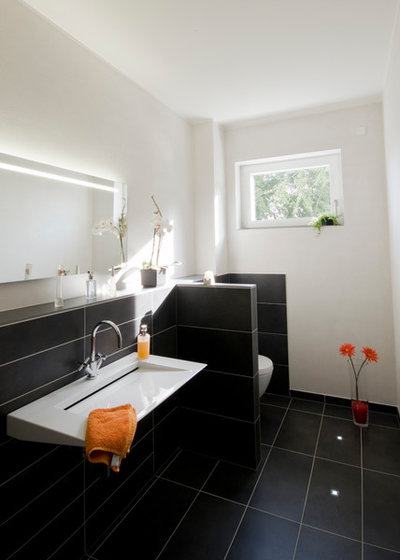 Contemporain Toilettes by Bolte + Galle Architekten
