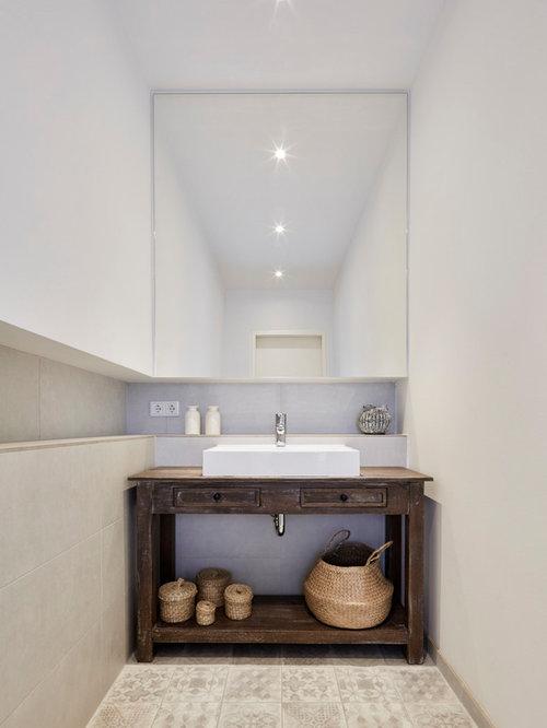 Rustikale Gästetoilette & Gäste-WC: Ideen für Gästebad- und Gäste-WC ...