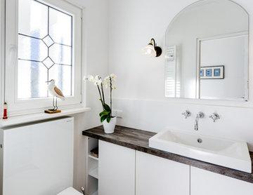 Gäste-WC in weiß