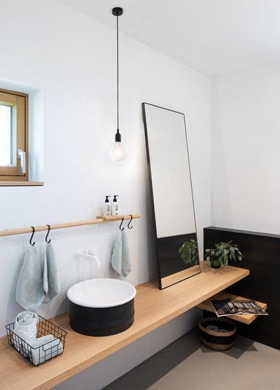 Скандинавский Туалет by VOIT SCHREINEREI + PLANUNG GmbH