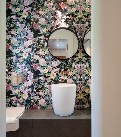 Modern Gästetoilette by Michel Bäder