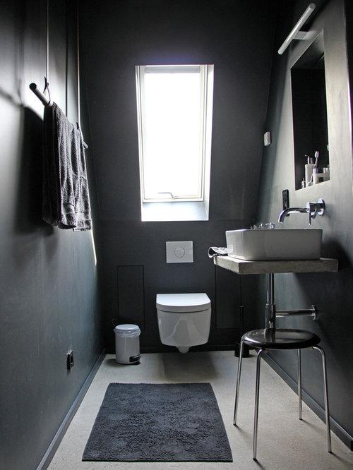 industrial badezimmer ideen beispiele f r die badgestaltung houzz. Black Bedroom Furniture Sets. Home Design Ideas