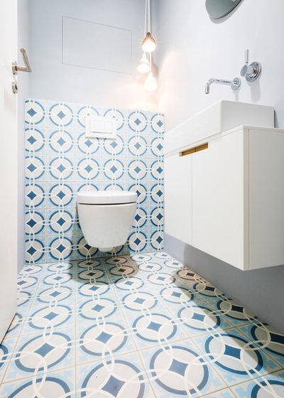 Modern Gästetoilette by BESPOKE Interior Design & Production