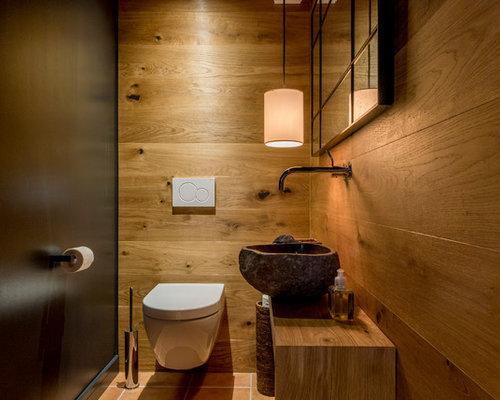 Foto e idee per bagni di servizio bagno di servizio in montagna