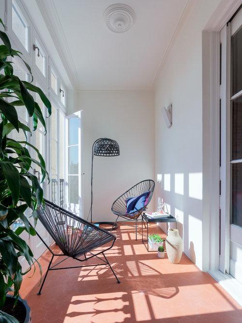 Ideas para galerías | Diseños de galerías con suelo de baldosas de ...