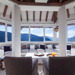 Salón con increíbles vistas