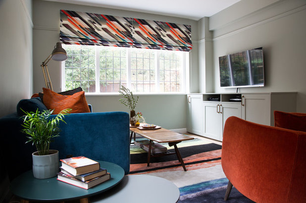 Transitional Family & Games Room by Smartstyle Interiors