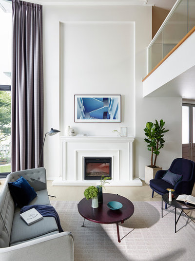 Traditional Family Room by John Lewis & Partners