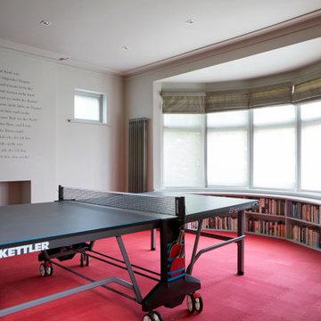 Contemporary Games Room