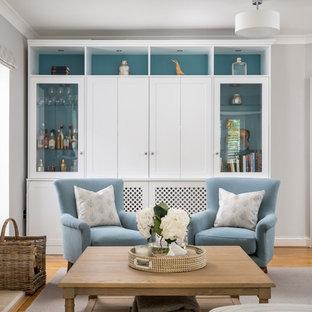 Calming Hamptons Style Lounge