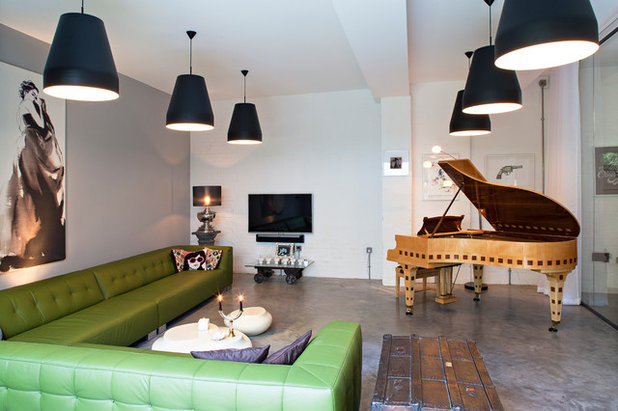 Contemporary Family Room by Chris Dyson Architects