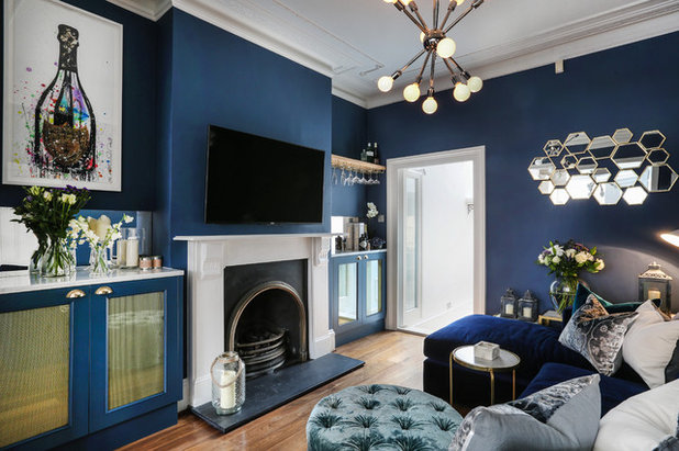 Eclectic Family & Games Room by Alex Maguire Photography