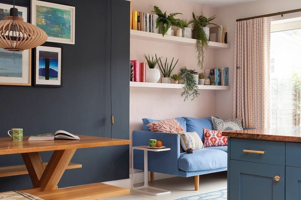 Eclectic Family & Games Room by Kate Lovejoy Interiors