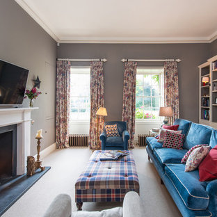 Cosy Country Family Living Room