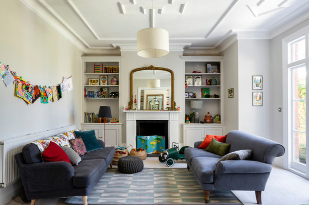 Traditional Family & Games Room by Imperfect Interiors