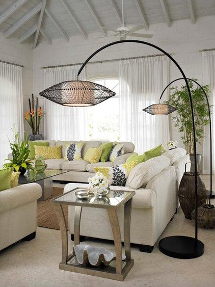Contemporary Family Room by Jenny Blanc