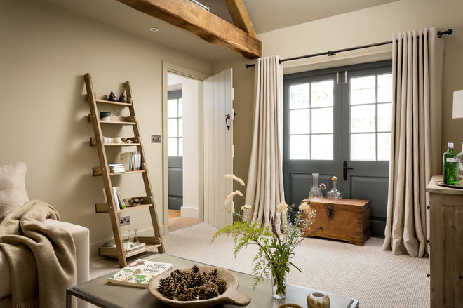 Farmhouse Family Room by Oliver Grahame Photography
