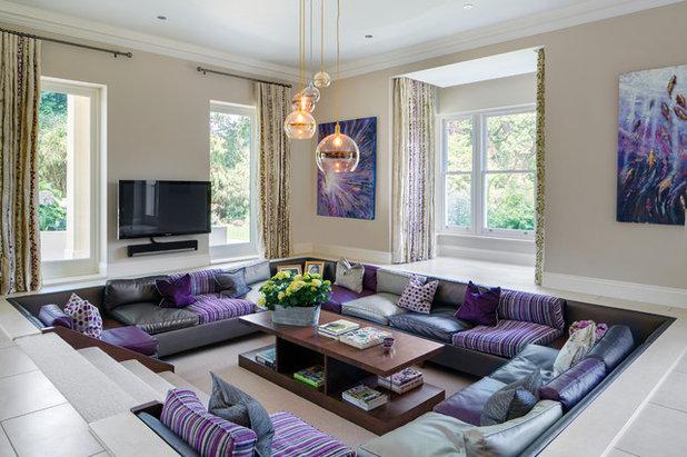 Modern Wohnzimmer by Lindi Reynolds Interior Design