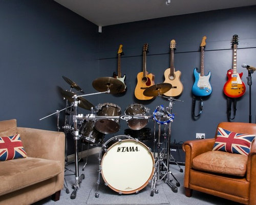 Drum kit home design ideas pictures remodel and decor