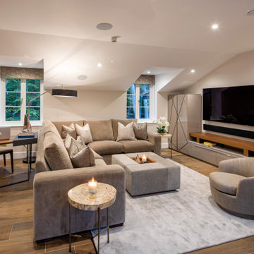 Living Space Above Garage