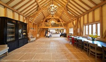 Oak framed barn