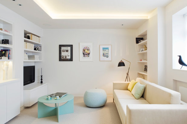 Contemporary Family & Games Room by Heidi Maude
