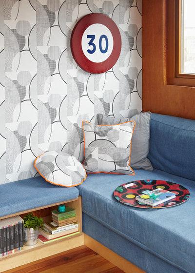 Contemporary Family Room by Ella Doran