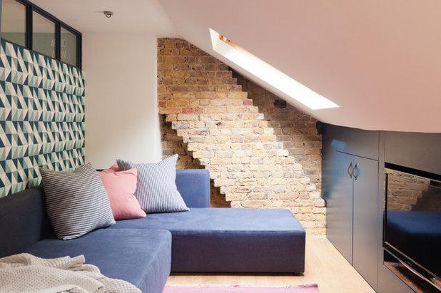 Contemporary Family & Games Room by Brooke Copp-Barton | Home Interior Design