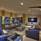 Beechwood Manor Modern Family Room London By