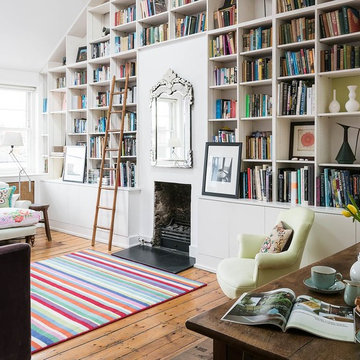 Vintage style apartment in Notting Hill.