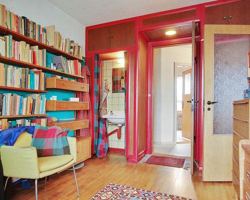 Billeder og indretningsidéer til retro soveværelse