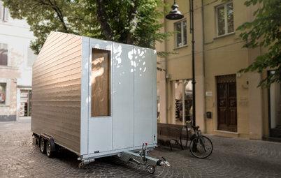 My Houzz: Vivere in 9 m² e Viaggiare tra le Grandi Città Europee