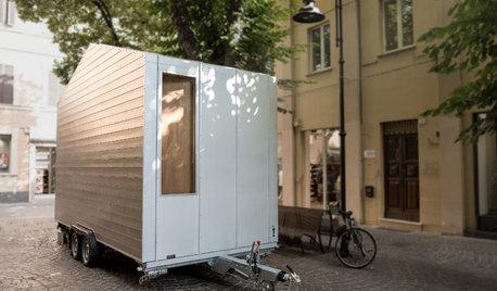 Houzz Италия: Маленький дом 9 кв.м — на колесах