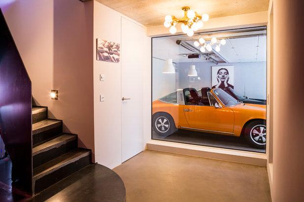 Modern Garage by Wohnzimmer