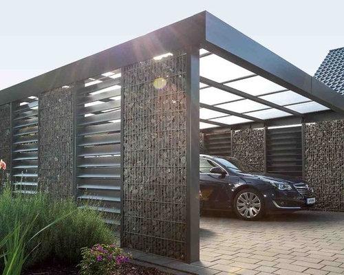 moderner carport ideen bilder. Black Bedroom Furniture Sets. Home Design Ideas