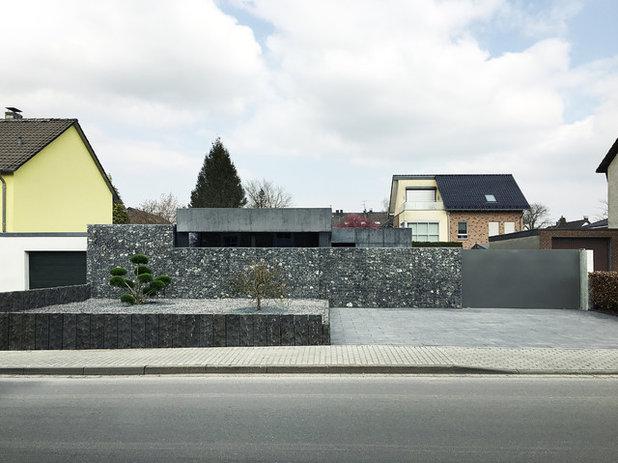 Garage modern holz  Architektur: Es ist eine Garage!