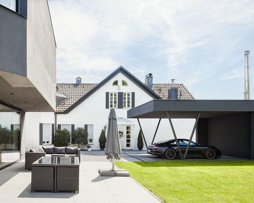 moderne carports ideen design bilder houzz. Black Bedroom Furniture Sets. Home Design Ideas