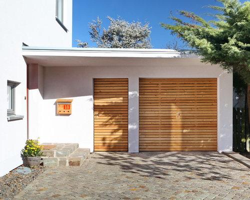 Moderne holzgarage  Moderne Garage - Ideen & Bilder