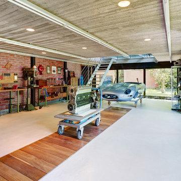 Modern Garage & Geräteschuppen