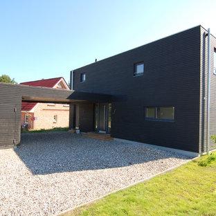 Idéer för en modern garage och förråd