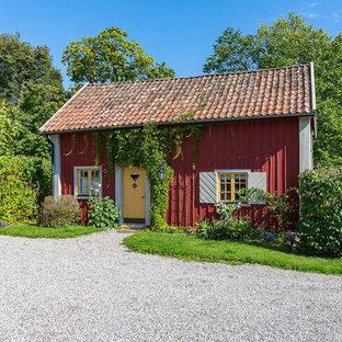 Idéer för små lantliga fristående gästhus